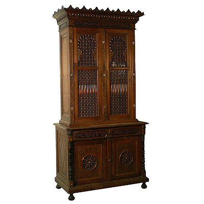 image of moroccan style cupboard, germany ca. 1910