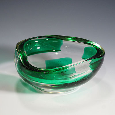 image of dino martens for aureliano toso coppa pesante glass bowl 1940ties