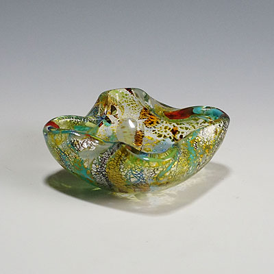 image of aureliano toso (attr.) murano art glass bowl 1950ties