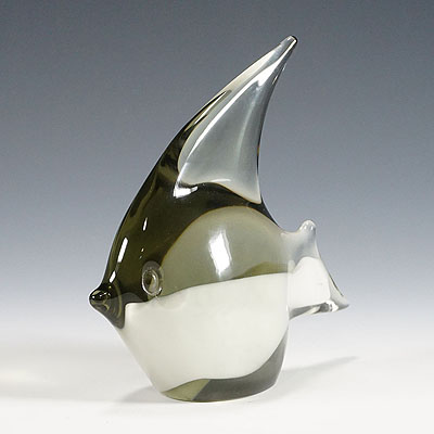 image of fish sculpture by livio seguso for gral germany ca. 1970ties