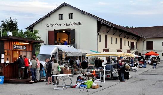 visit of the antique market of Keferloh in June 2015