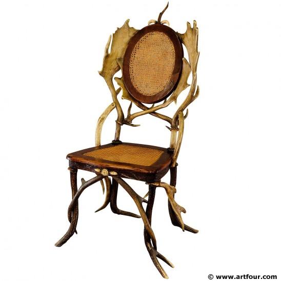 artfour´s top deal antler parlor chair