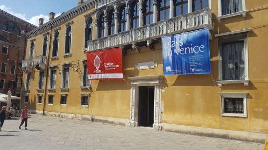 art glass - visit Venice - Palazzo Loredan